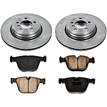 86OEREP20 SureStop OE Replacement Rear Brake Disc and Pad Kit, 2-Wheel Set