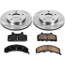 87OEREP14 SureStop OE Replacement Front Brake Disc and Pad Kit, 2-Wheel Set