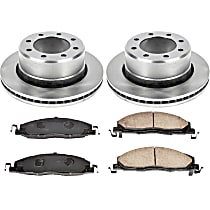 87OEREP54 SureStop OE Replacement Rear Brake Disc and Pad Kit, 2-Wheel Set