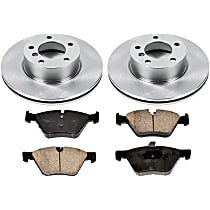 89OEREP45 SureStop OE Replacement Front Brake Disc and Pad Kit, 2-Wheel Set