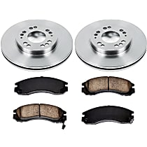 8OEREP79 SureStop OE Replacement Front Brake Disc and Pad Kit, 2-Wheel Set