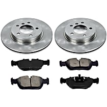 8OEREP86 SureStop OE Replacement Front Brake Disc and Pad Kit, 2-Wheel Set