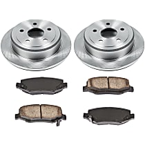 90OEREP30 SureStop OE Replacement Rear Brake Disc and Pad Kit, 2-Wheel Set