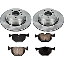 91OEREP54 SureStop OE Replacement Rear Brake Disc and Pad Kit, 2-Wheel Set