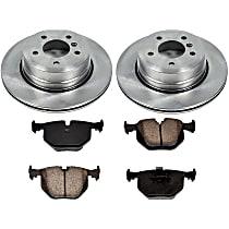 92OEREP54 SureStop OE Replacement Rear Brake Disc and Pad Kit, 2-Wheel Set
