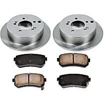 94OEREP53 SureStop OE Replacement Rear Brake Disc and Pad Kit, 2-Wheel Set