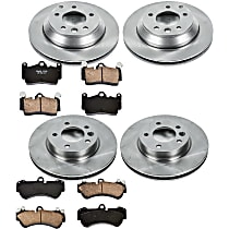 95OEREP44 SureStop OE Replacement Front And Rear Brake Disc and Pad Kit, 4-Wheel Set