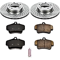 97OEREP16 SureStop OE Replacement Front Brake Disc and Pad Kit, 2-Wheel Set