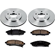 98OEREP14 SureStop OE Replacement Front Brake Disc and Pad Kit, 2-Wheel Set