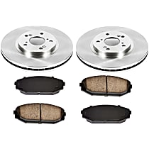 99OEREP22 SureStop OE Replacement Front Brake Disc and Pad Kit, 2-Wheel Set