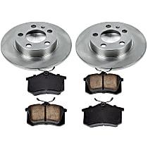 9OEREP84 SureStop OE Replacement Rear Brake Disc and Pad Kit, 2-Wheel Set