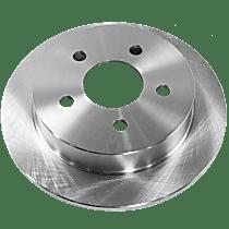 Brake Disc - Rear, Driver or Passenger Side