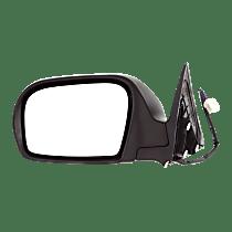 Mirror Heated - Driver Side, Textured Black