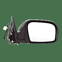 Mirror Heated - Passenger Side, Textured Black