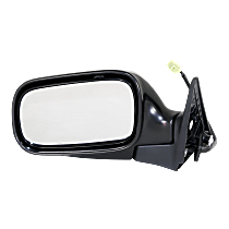 Mirror Non-Heated - Driver Side, Textured Black