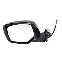Mirror - Driver Side, Power, Heated, Paintable, With Turn Signal