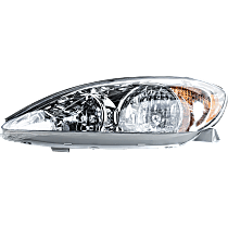 Driver Side Headlight, With bulb(s) - 02-04 Camry (LE/XE Model)