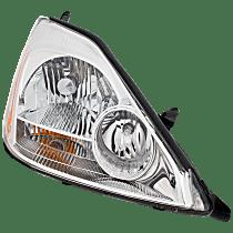 Passenger Side Halogen Headlight, With bulb(s) - 04-05 Sienna (CE/LE/XLE Model)