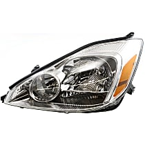 Driver Side Halogen Headlight, With bulb(s) - 04-05 Sienna (CE/LE/XLE Model)