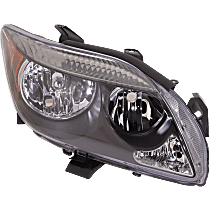 Passenger Side Headlight, Without bulb(s) - w/o Base Package