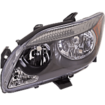 Driver Side Headlight, Without bulb(s) - w/o Base Package