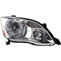 Passenger Side Halogen Headlight, With bulb(s) - (XL/XLS Model)