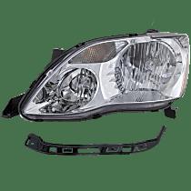 Driver Side Halogen Headlight, With bulb(s) - (XL/XLS Model)