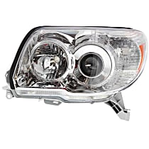 Driver Side Headlight, Without bulb(s) - (Limited/SR5 Model)