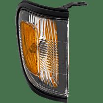 Passenger Side Corner Light, With bulb(s) - With Black Trim