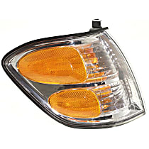 Passenger Side Turn Signal Light, With bulb(s) - Double Cab, With Prod. Date Up to 8/2004