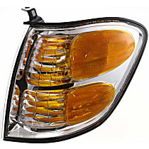 Driver Side Turn Signal Light, With bulb(s) - Double Cab, With Prod. Date Up to 8/2004