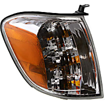 Passenger Side Turn Signal Light, With bulb(s) - Double Cab, With Prod. Date From 8/2004