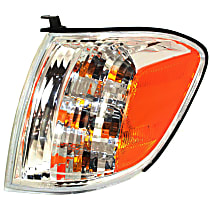 Driver Side Turn Signal Light, With bulb(s) - Double Cab, With Prod. Date From 8/2004