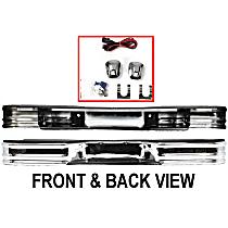 76001 Surestep Series Rear Bumper, Chrome