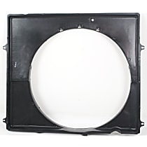 Fan Shroud, Fits Radiator Fan - 6cyl Engine, w/Auto Trans.