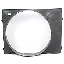Fan Shroud - Upper, For Radiator Fan, 6 Cyl. Engine