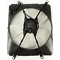 OE Replacement Radiator Fan - 4cyl, Driver Side