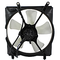 OE Replacement Radiator Fan - 6cyl, Driver Side