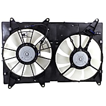 OE Replacement Radiator Fan - Fits 2.4L w/ Tow Pckg., 3.0L/3.3L w/o Tow Pckg., Excludes Hybrid