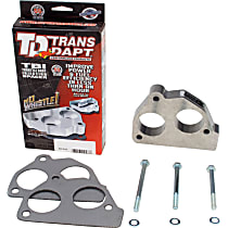 2533 Throttle Body Spacer - Natural, Aluminum, Direct Fit, Sold individually