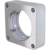 2572 Throttle Body Spacer - Natural, Aluminum, Direct Fit, Sold individually