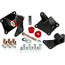 4205 LS Engine Swap Mount Mount Kit, Red, Polyurethane
