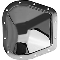 4807 Differential Cover - Chrome, Steel, Direct Fit, Sold individually