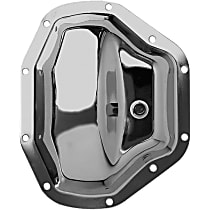 Transdapt 4808 Differential Cover - Chrome, Steel, Direct Fit, Sold individually