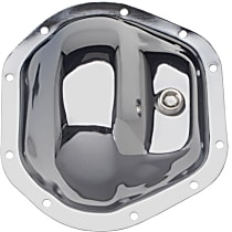 Transdapt 4815 Differential Cover - Chrome, Steel, Direct Fit, Sold individually