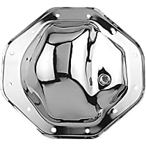 Transdapt 4817 Differential Cover - Chrome, Steel, Direct Fit, Sold individually