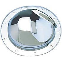 Differential Cover - Chrome, Steel, Direct Fit, Kit Front Or Rear