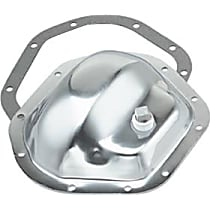 8782 Differential Cover - Chrome, Steel, Direct Fit, Kit