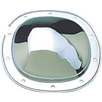 Differential Cover - Chrome, Steel, Direct Fit, Kit