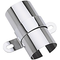 9006 Ignition Coil Bracket - Chrome, Steel, Universal